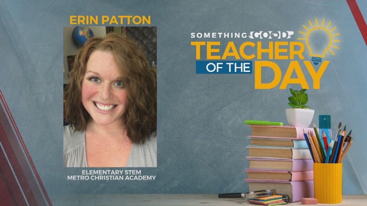 Teacher Of the Day Erin Patton