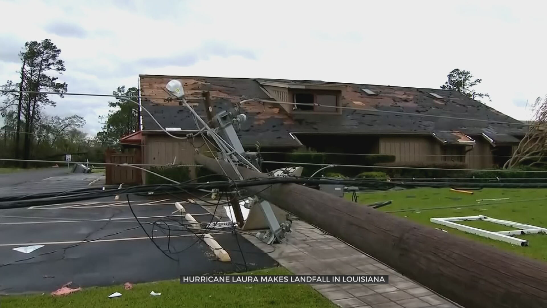 As Laura Weakens To Tropical Storm, Tulsa First Responders Aid Relief Efforts
