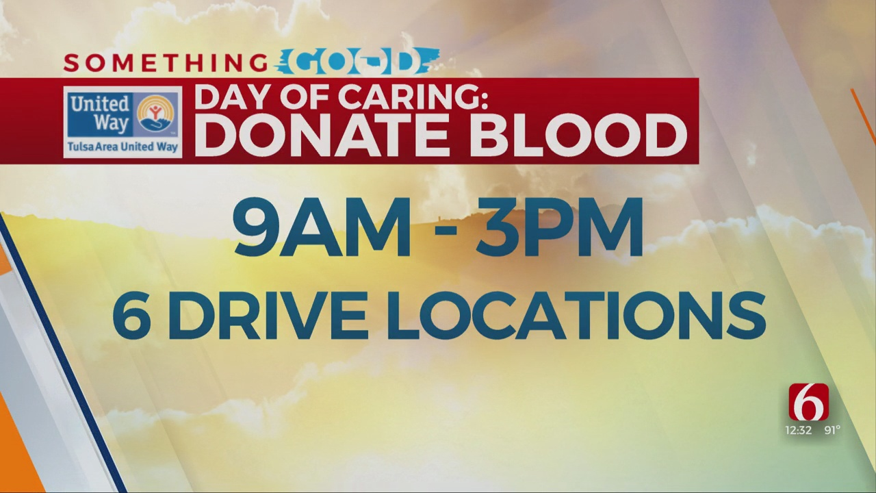 WATCH: How To Donate Blood For United Way's Day Of Caring