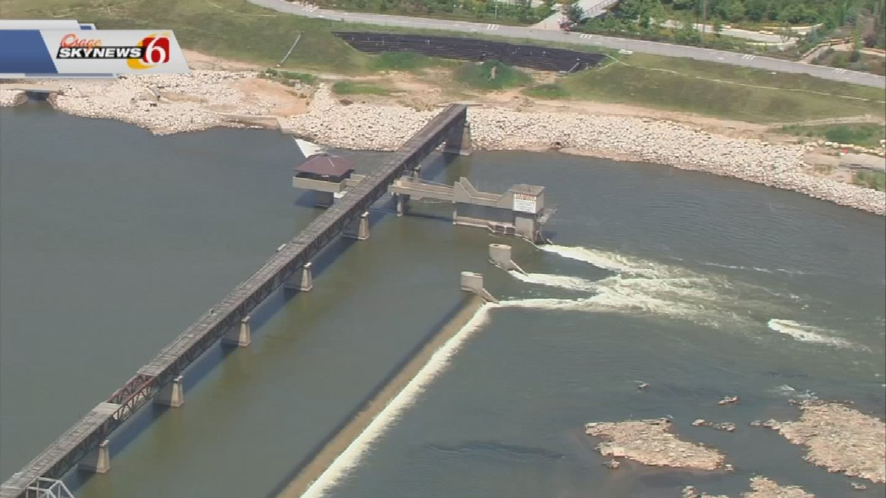 Zink Dam Construction In Tulsa Forces Detour On River Parks Trail