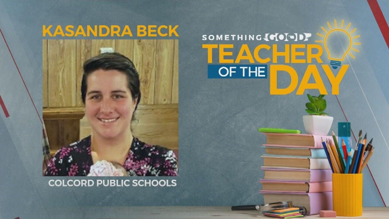 Teacher of The Day Kasandra Beck