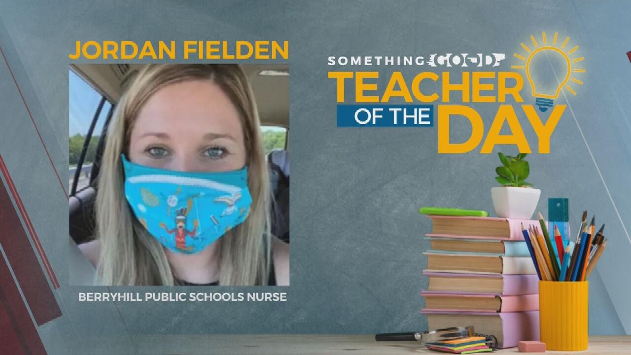Teacher of the Day: Jordan Fielden