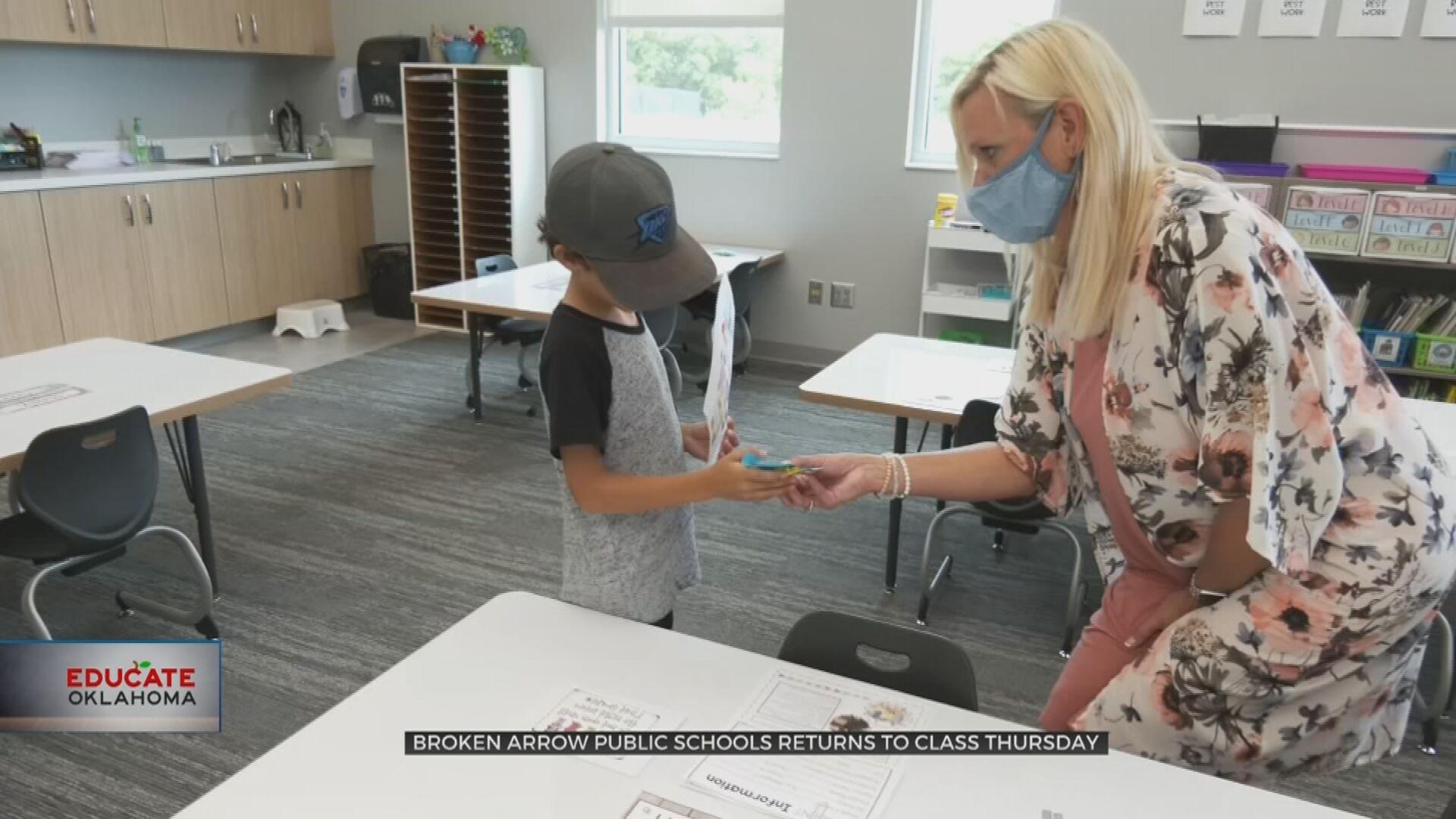 Broken Arrow Public Schools 'Ready To Have Kids Back' On Thursday