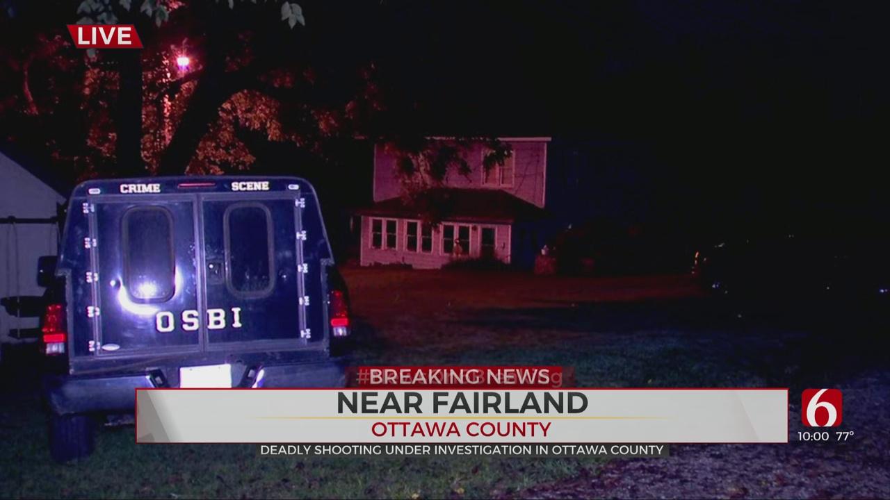 Woman Found Shot To Death Near Fairland