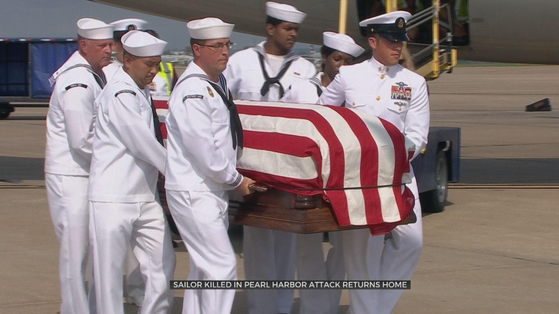 Sailor Killed In Pearl Harbor Attack Returns Home