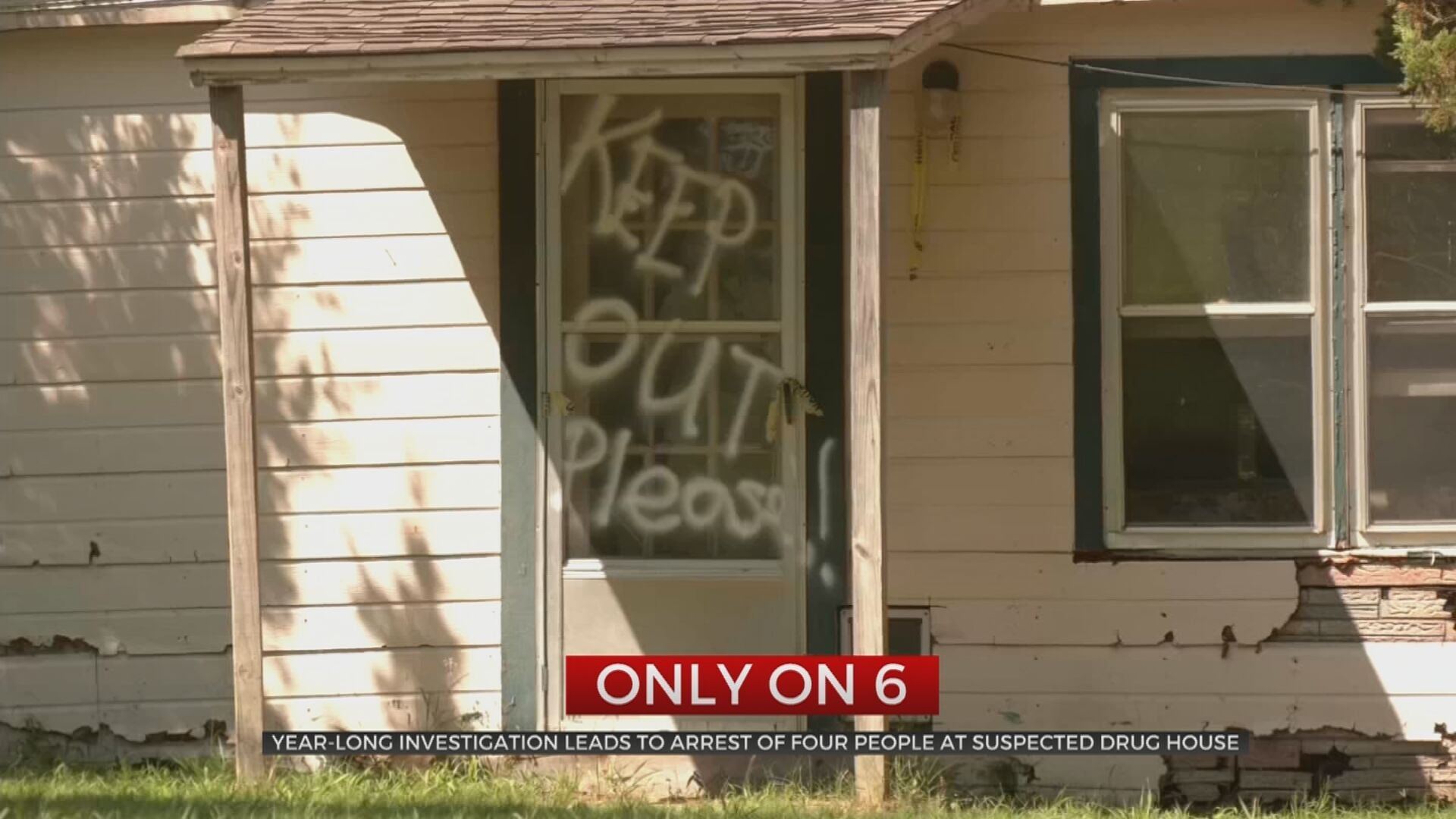 Year-Long Investigation Leads To Arrest Of 4 People At Suspected Drug House