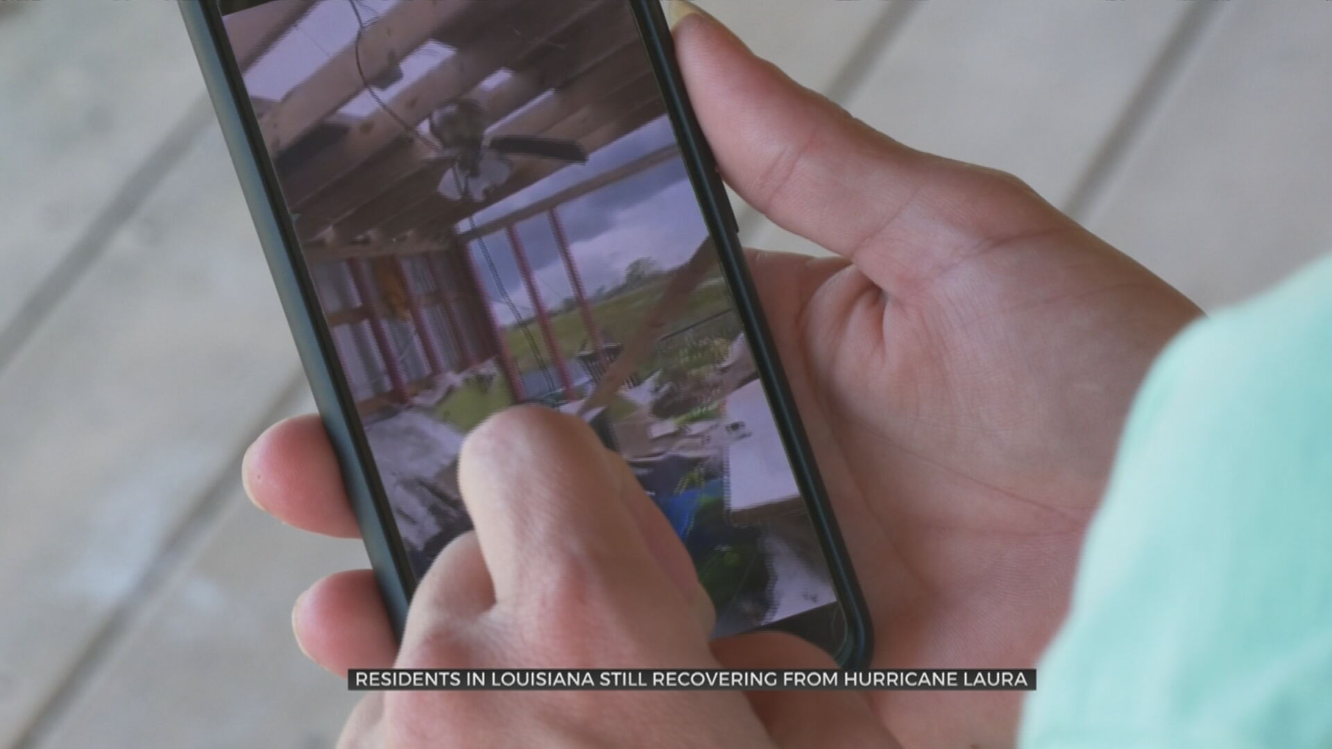 Louisiana Resident Says Town Is Unrecognizable After Hurricane