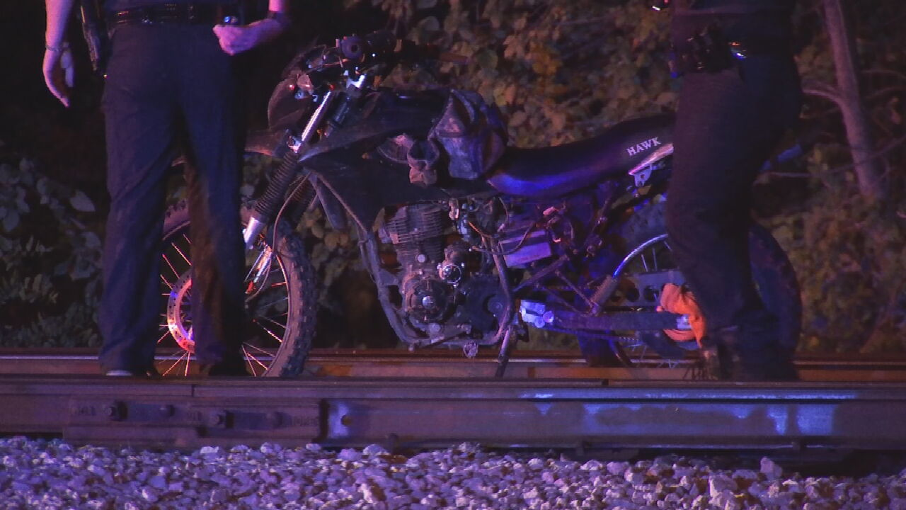 Dirt Bike Chase Leads To Unrelated Drug Arrest Near Sand Springs