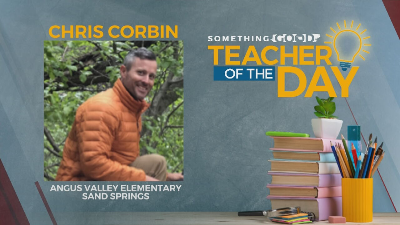 Teacher Of The Day: Chris Corbin