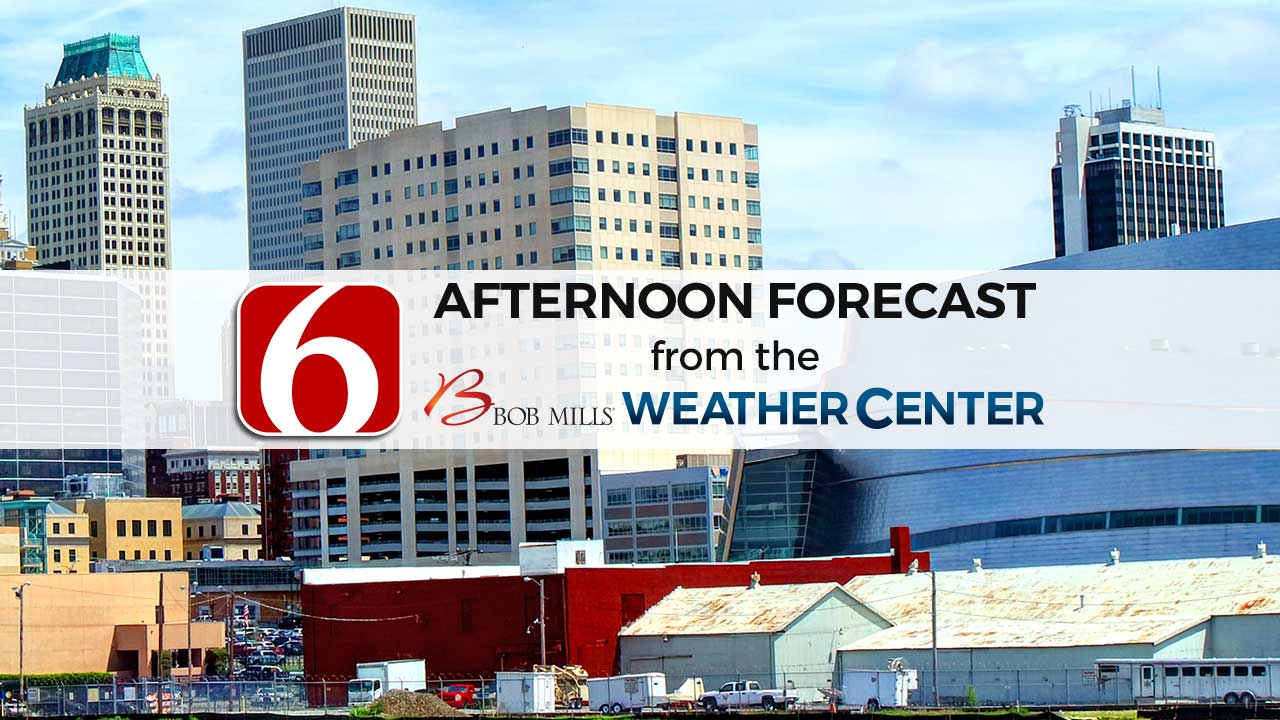Friday Afternoon Forecast With Sawyer Wells