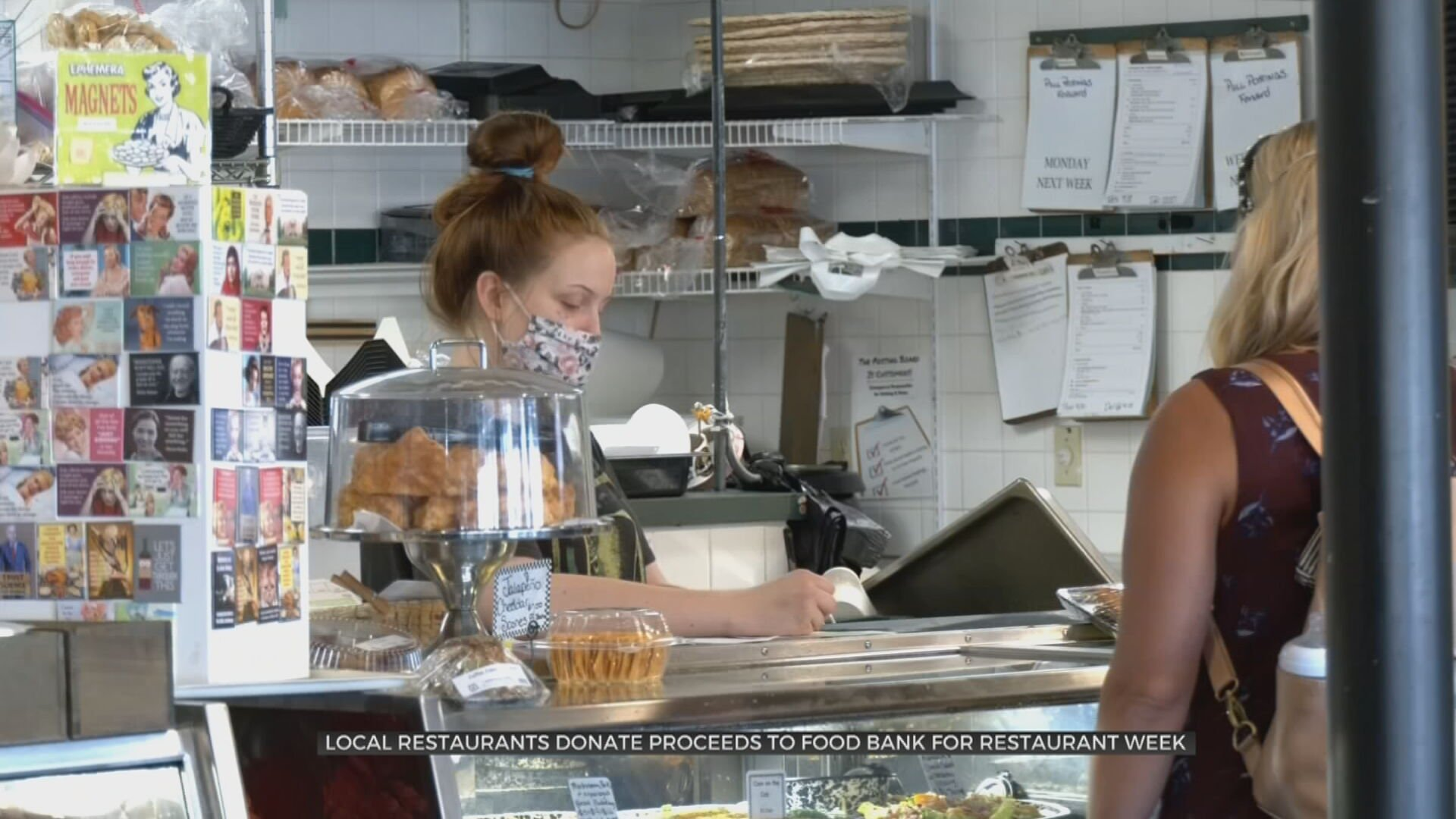 Local Restaurants Donate Proceeds To Food Bank For Restaurant Week