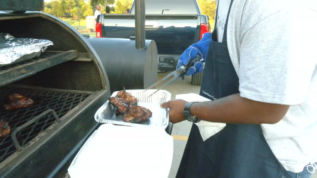 Grill Masters Compete In 1st Ever Step Up To The Grill On Greenwood Cook-Off