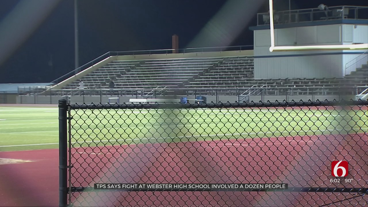 Tulsa Police Investigate Brawl At Webster High School