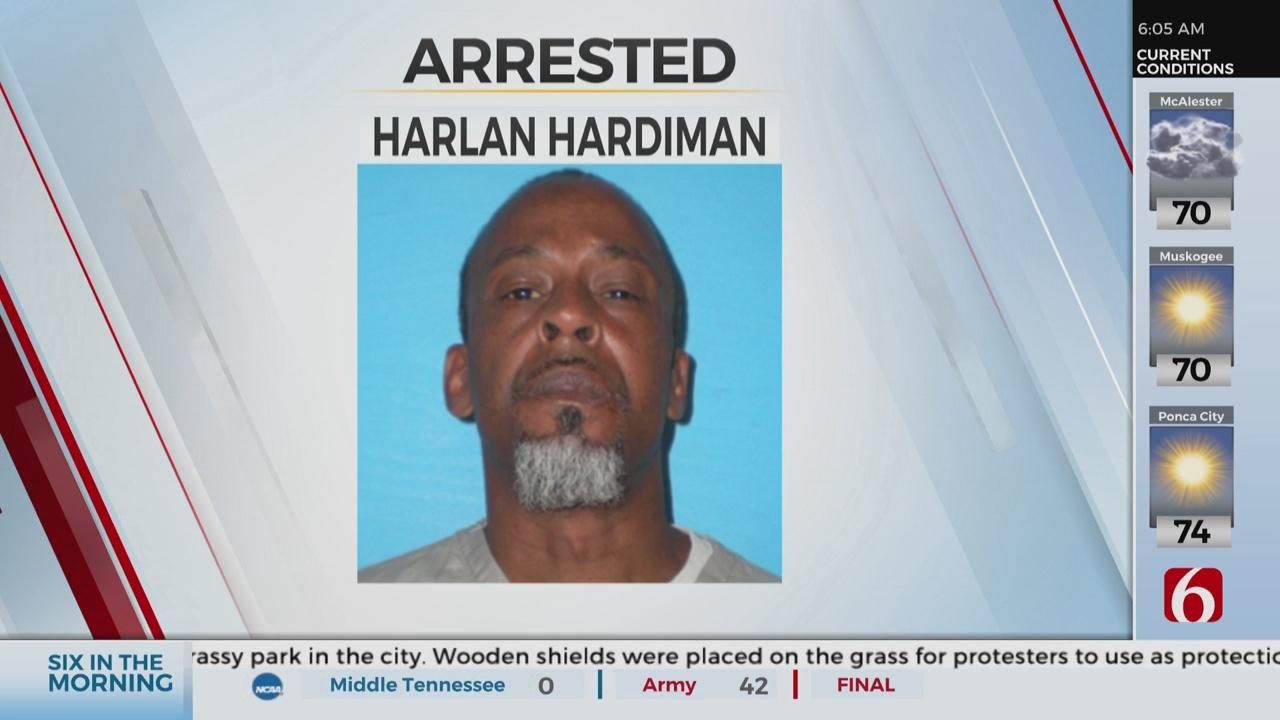 Tulsa Man Accused Of Killing 66-Year-Old Man At A Bus Stop