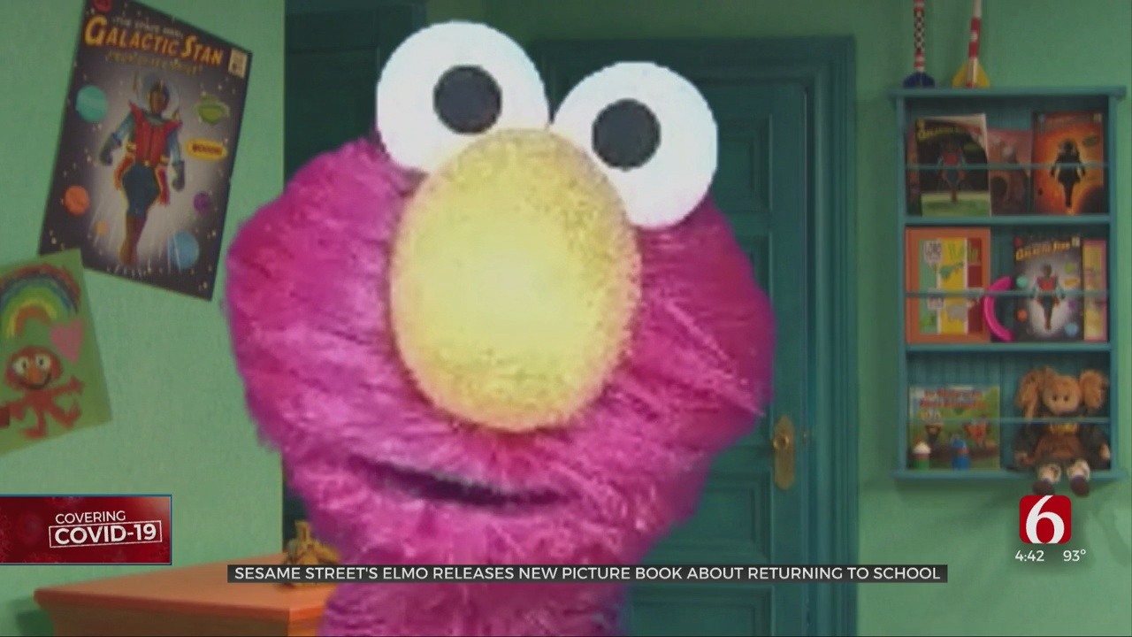 Sesame Street's Elmo Releases New Picture Book About Returning To School