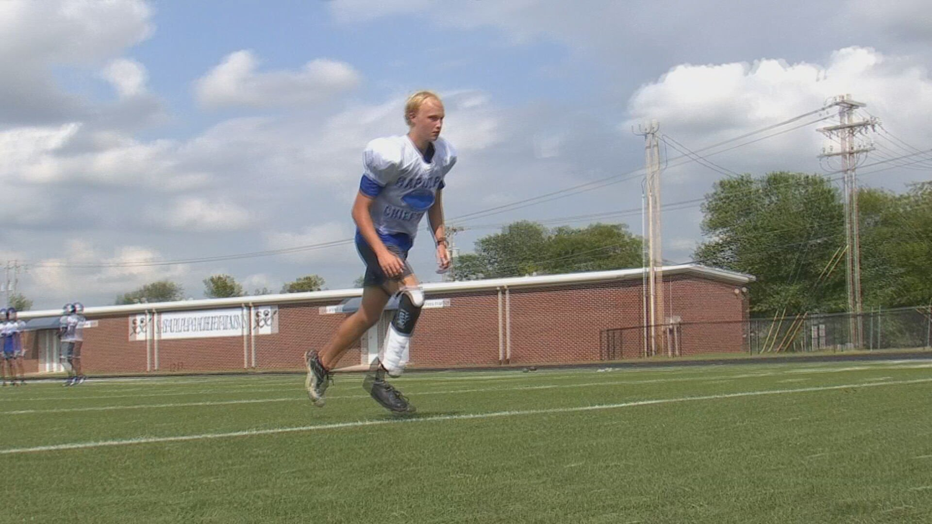 Sapulpa High School Kicker With Prosthetic Leg Won't Let Anything Block His Path