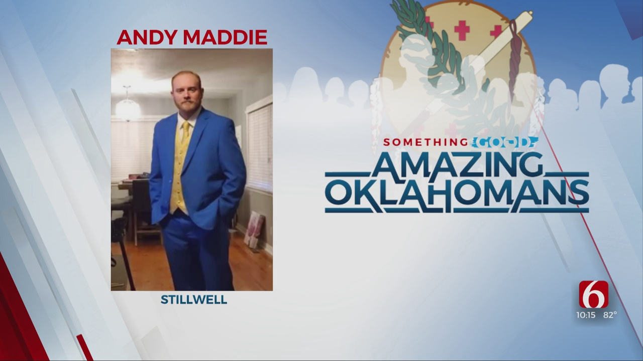 Amazing Oklahoman: Andy Maddie Believes In Everyone's Potential