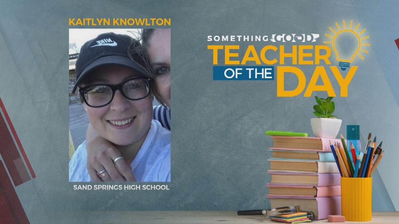 Teacher of The Day: Kaitlyn Knowlton