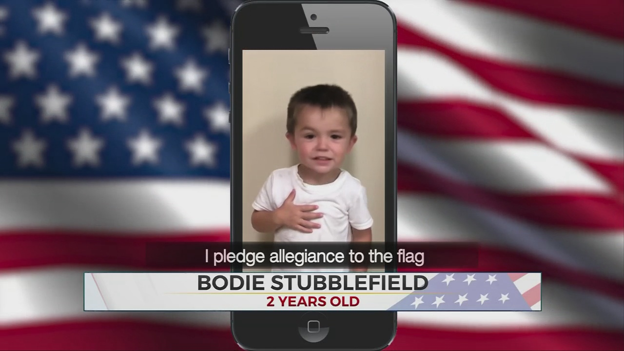 Daily Pledge: Little Bodie Stubblefield