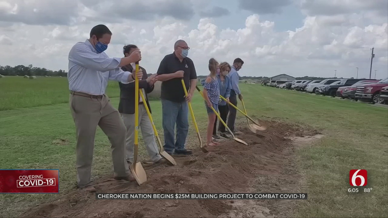Cherokee Nation Begins $25 Million Building Project To Combat COVID-19
