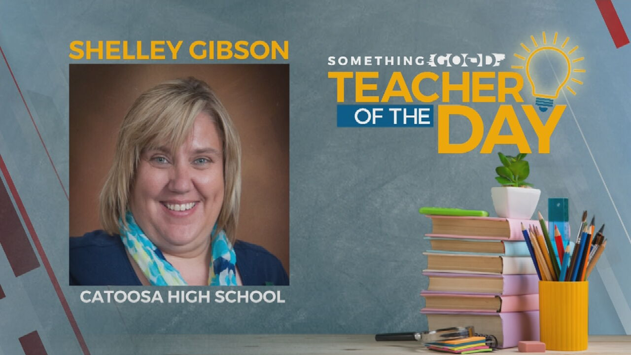 Teacher Of The Day: Shelley Gibson