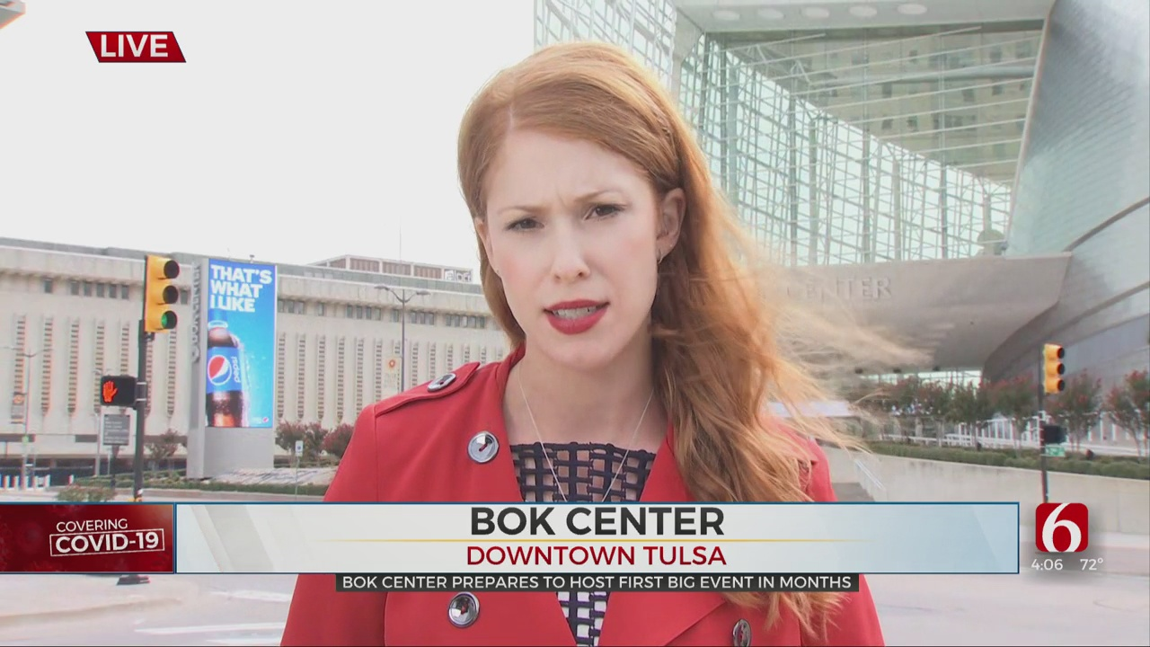 BOK Center To Host Pro Bull Riding Competition; First Event Since President's Campaign Rally