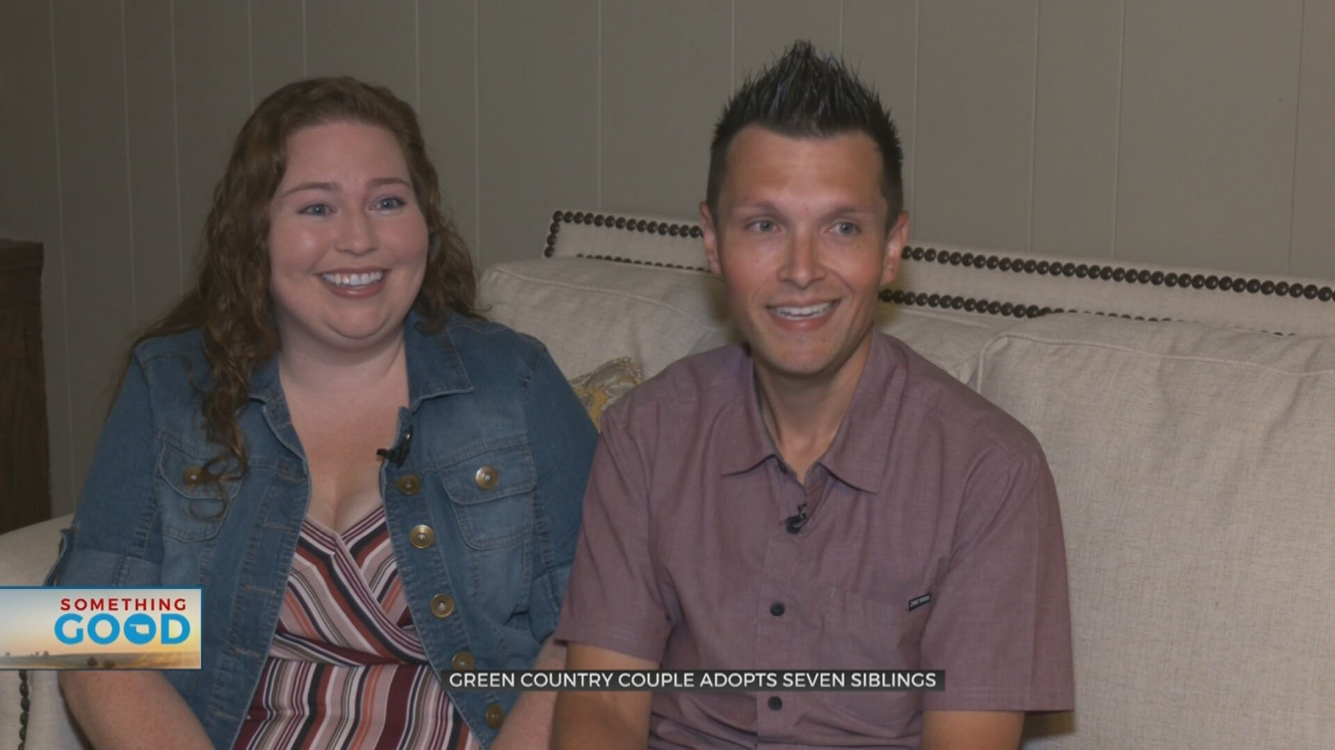 7 Siblings Adopted By Local Couple Who Says 'It Was Meant To Be'