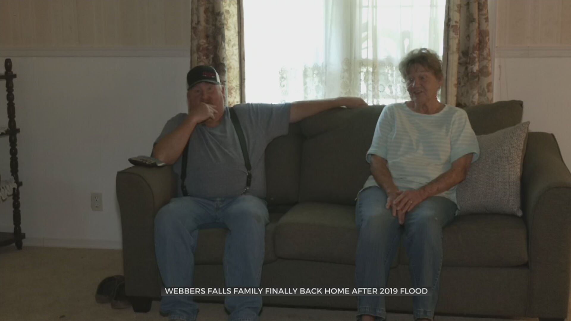 Webbers Falls Family Finally Back Home After 2019 Flood