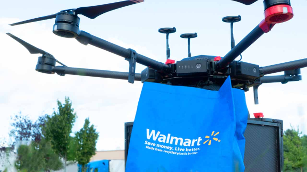 Walmart Testing Service To Deliver Groceries And Other Products By Drone