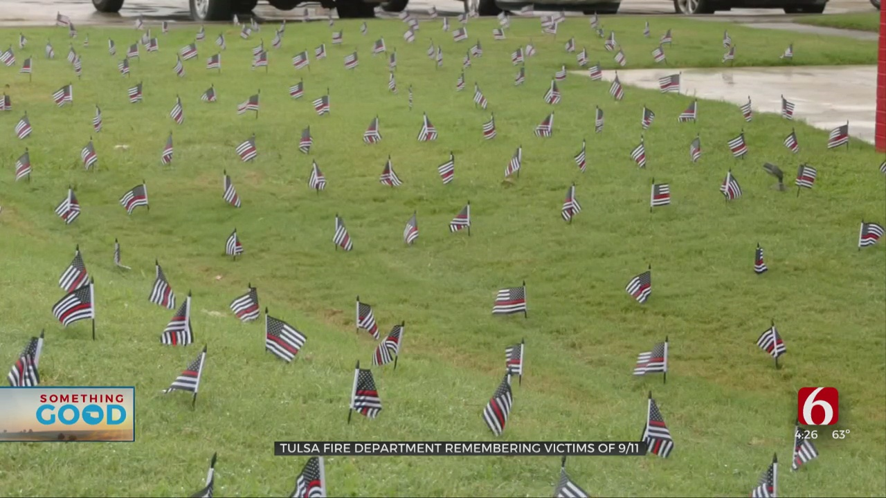 Tulsa Fire Department To Honor 9/11 Victims With Tribute