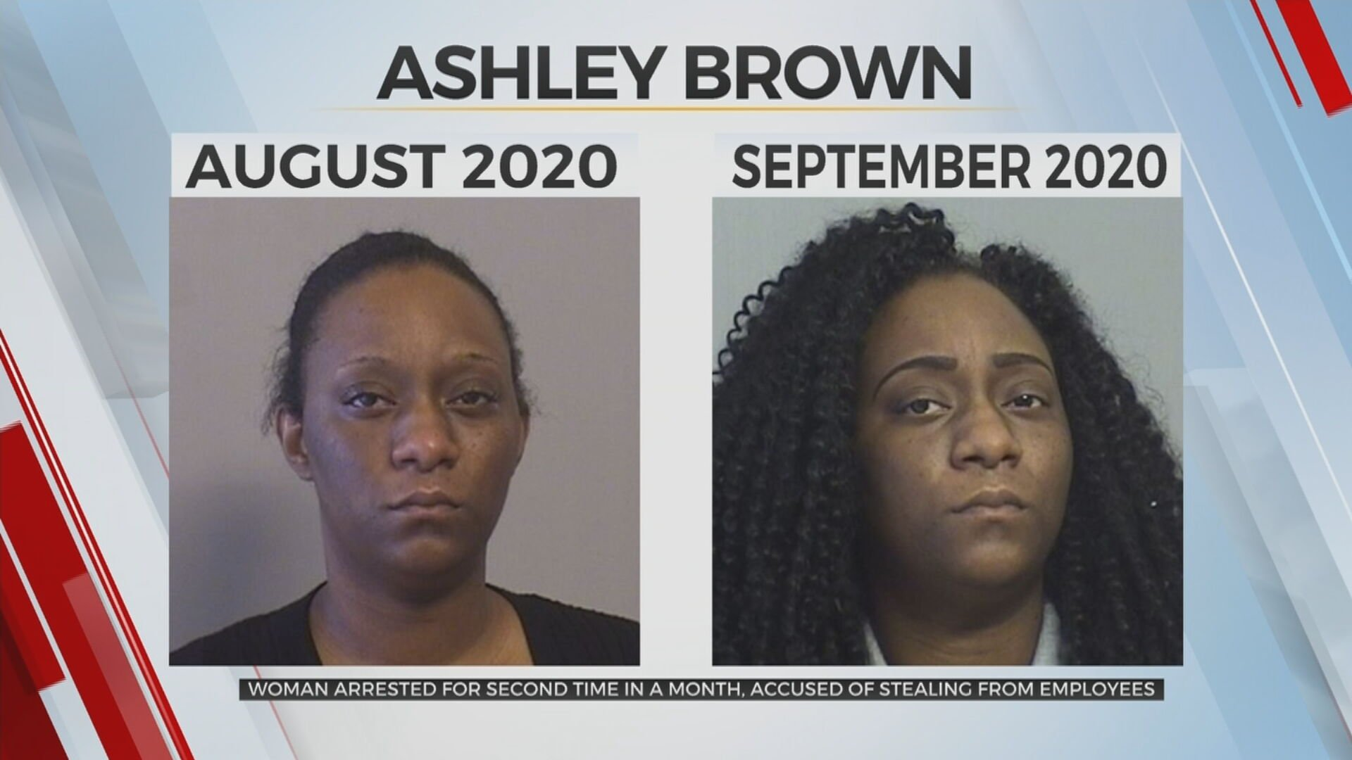 Woman Arrested Twice In A Month, Accused Of Stealing From Elderly Couple