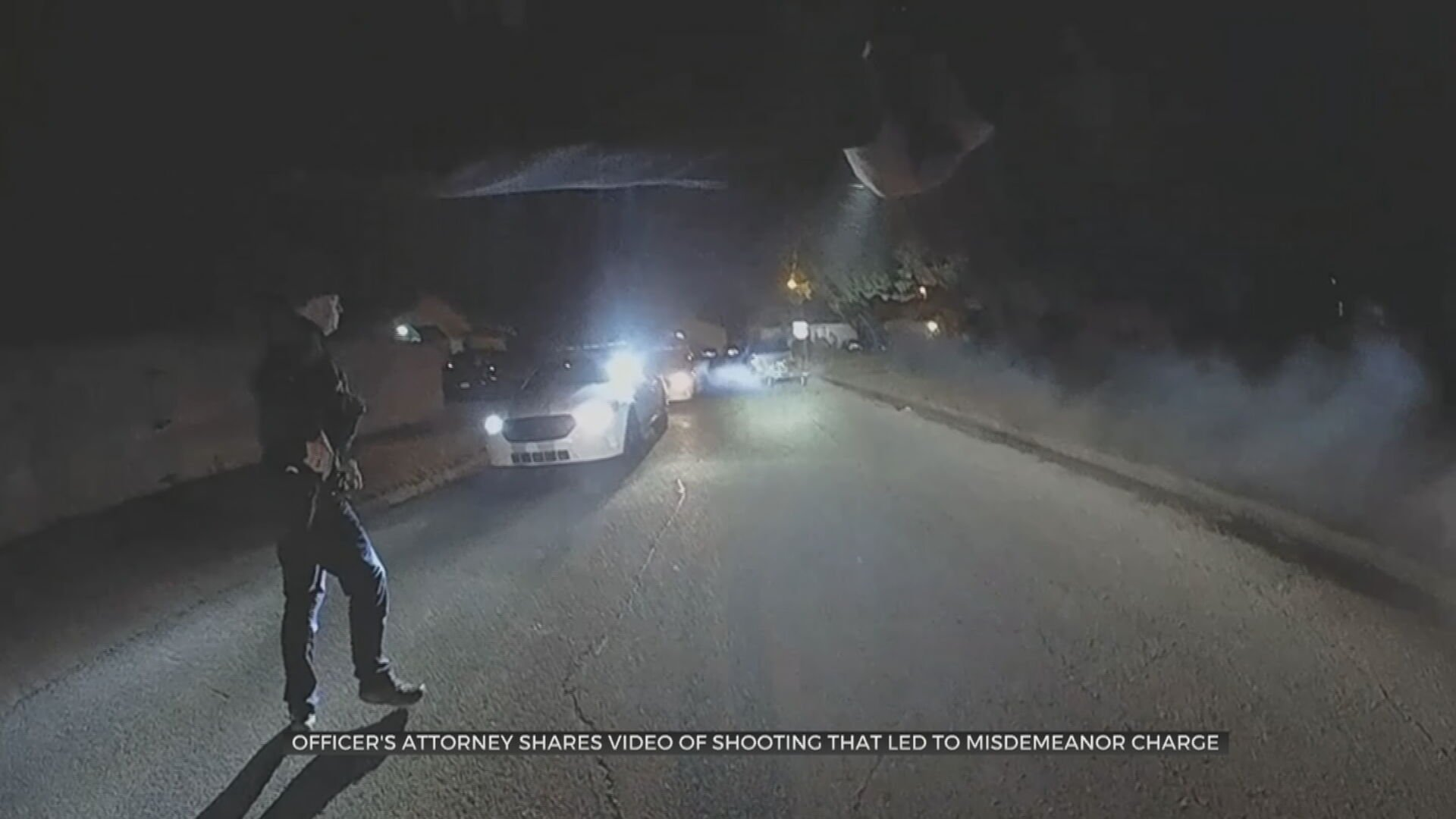 Video Released From Shooting That Led To Misdemeanor Charge For Tulsa Police Officer