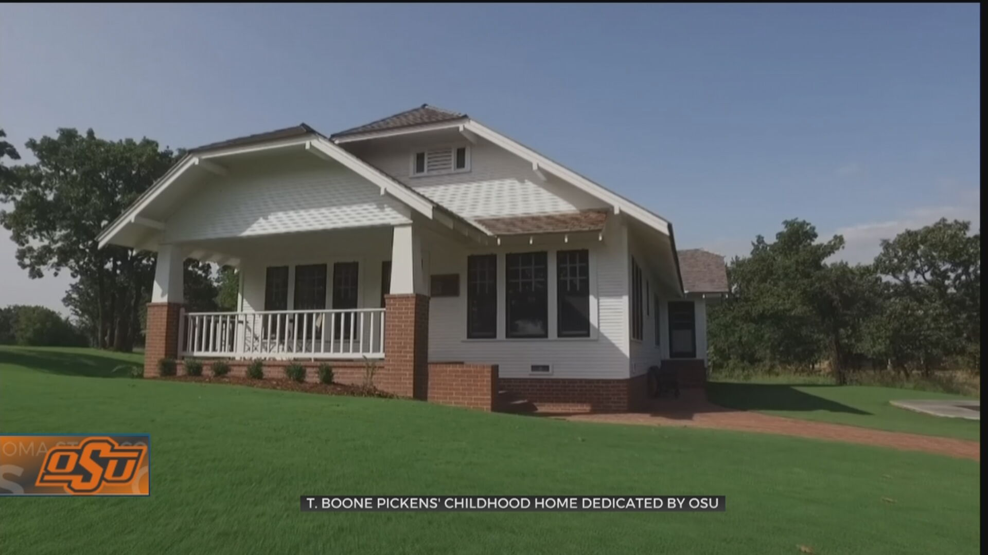 Childhood Home Of T. Boone Pickens Dedicated By OSU