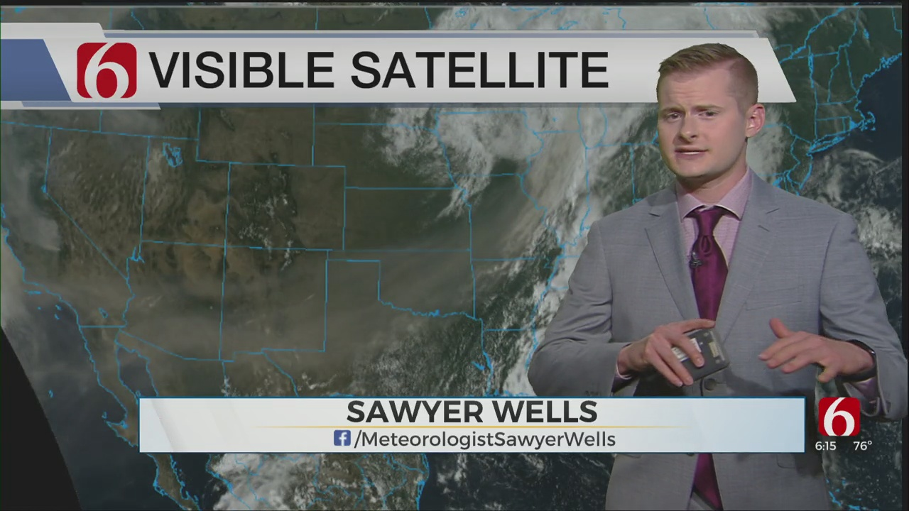 Saturday Evening Forecast With Sawyer Wells