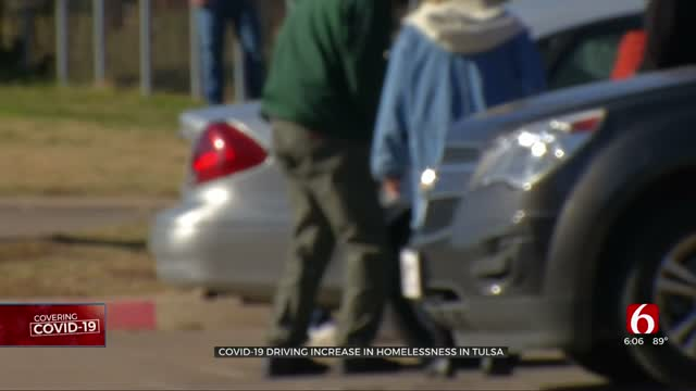 COVID-19 Drives Increase In Homelessness In Tulsa