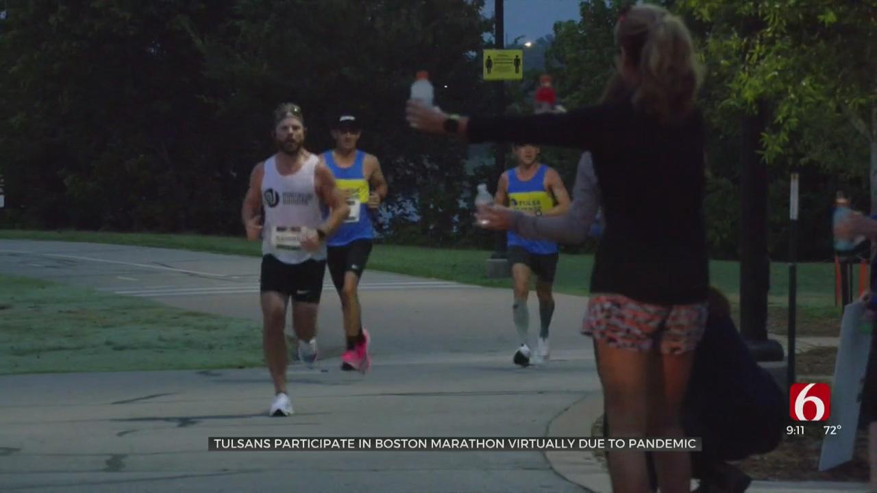 Green Country Runners Bring Annual Boston Marathon To Tulsa