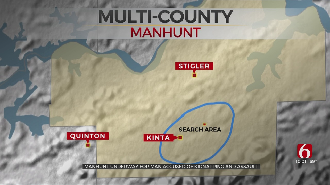 Deputies, US Marshals And Troopers Continue Manhunt For Accused Kidnapper