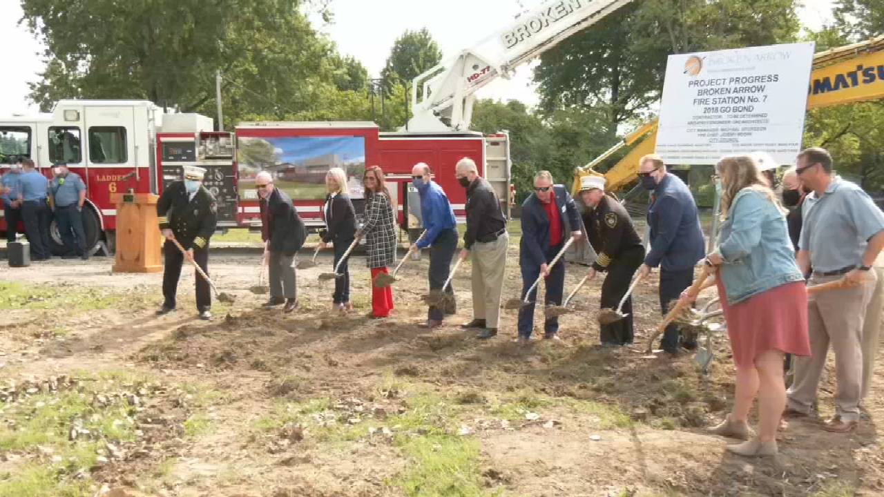 Broken Arrow Breaks Ground On New Fire Station