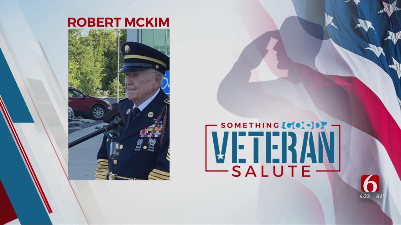 Veteran Salute: Sergeant Major Robert McKim
