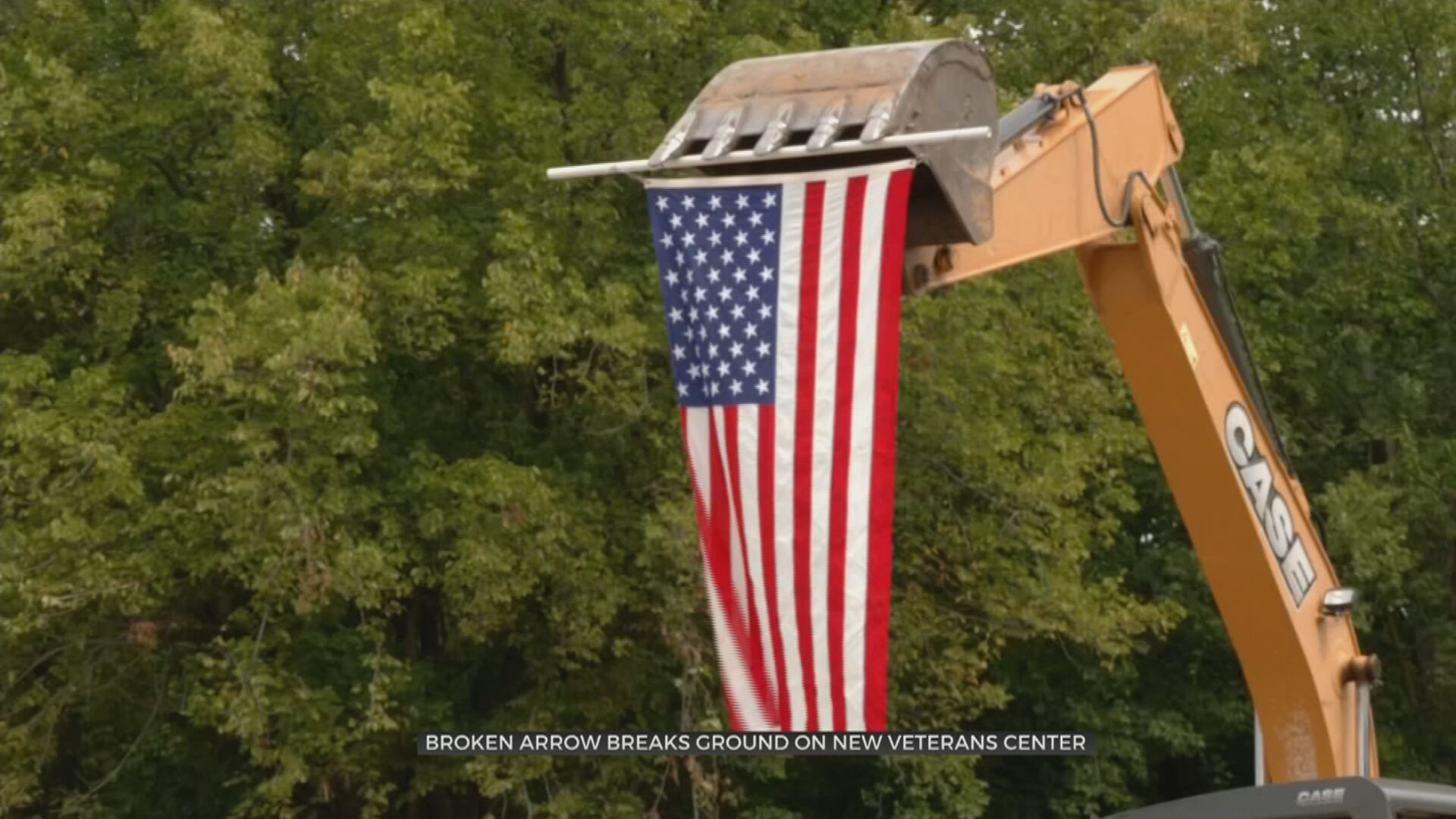 Broken Arrow Breaks Ground For New Armed Forces Hall