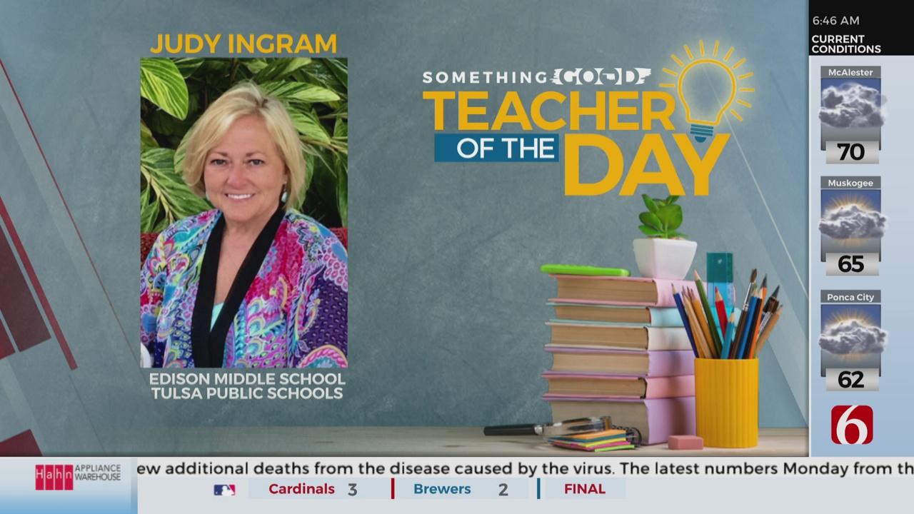 Teacher Of The Day: Judy Ingram