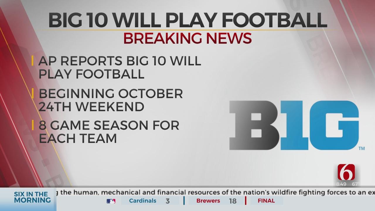 Big 10 Plays on