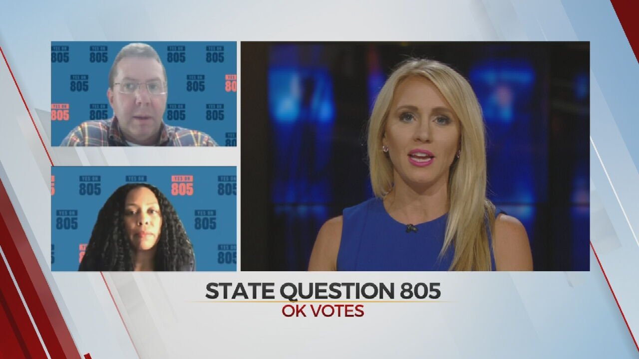 Yes On State Question 805 Campaign Presents The Case For Criminal Justice Reform