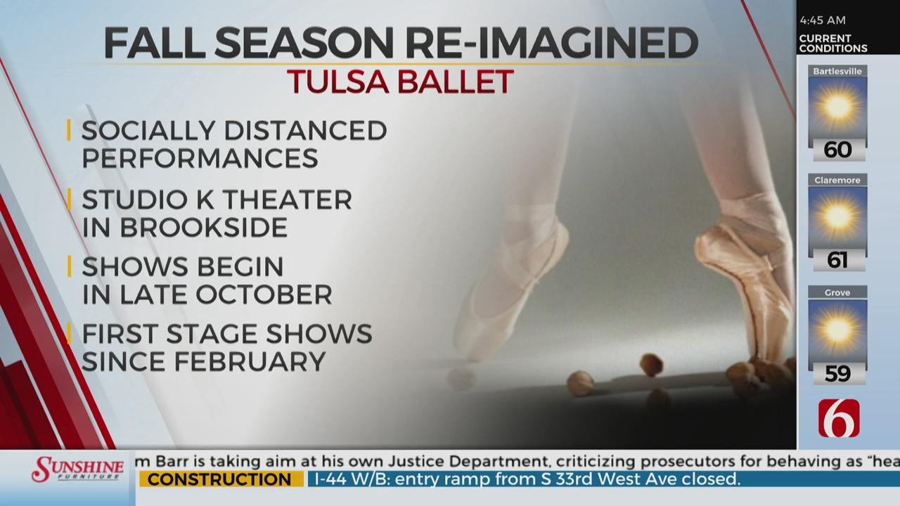 Tulsa Ballet Cancelling Nutcracker performance Due To COVID-19