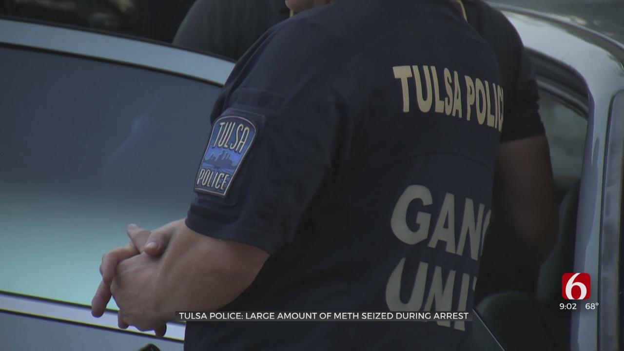 Police: Suspect Arrested In Tulsa Drug Bust