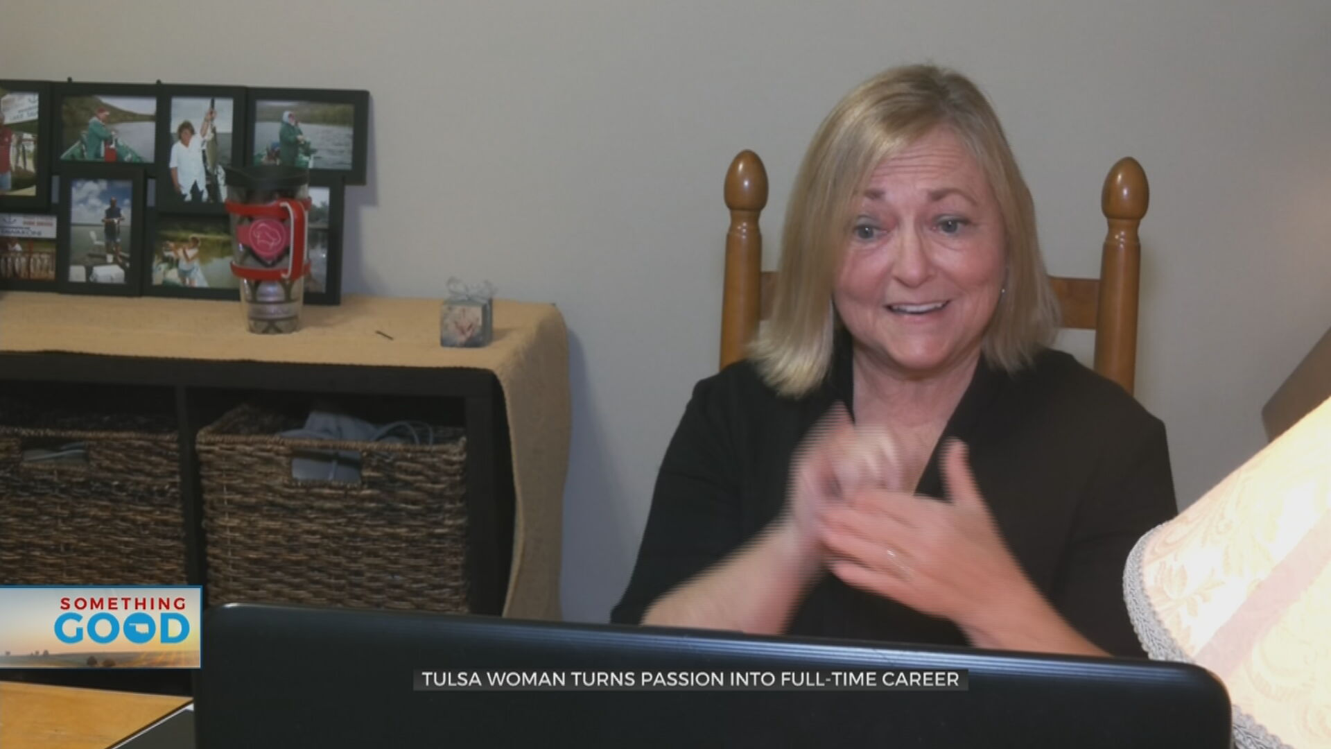 Tulsa Woman Turns Passion For Sign Language Into Labor Of Love