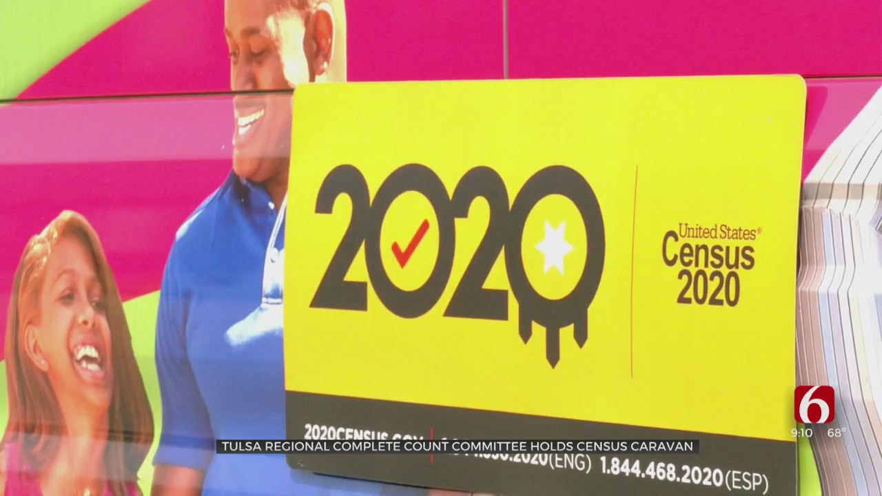 Tulsa 2020 Census Caravan Encourages Citizens To Be Counted