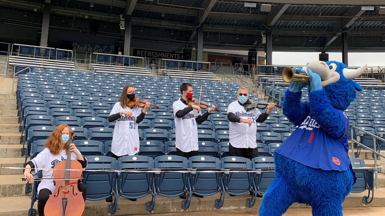 Signature Symphony Entertains Guests At ONEOK Field In Tulsa