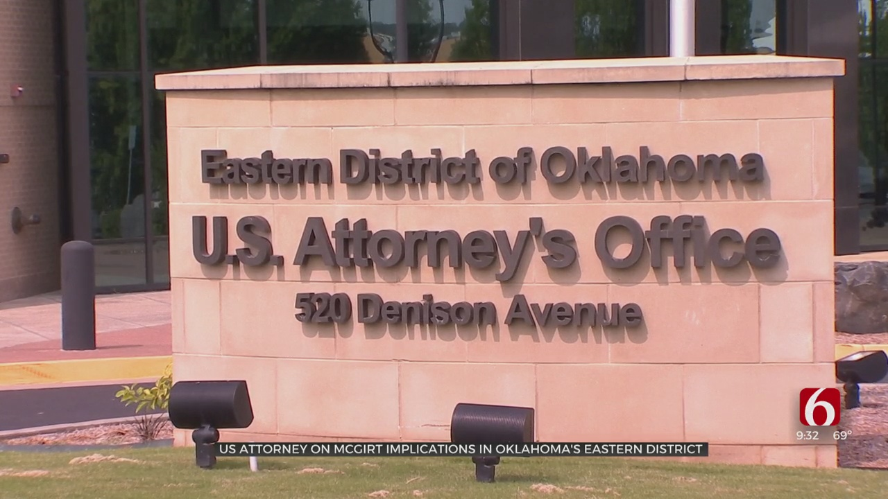 US Attorney For Eastern District Of Oklahoma Discusses Implications Of McGirt Case