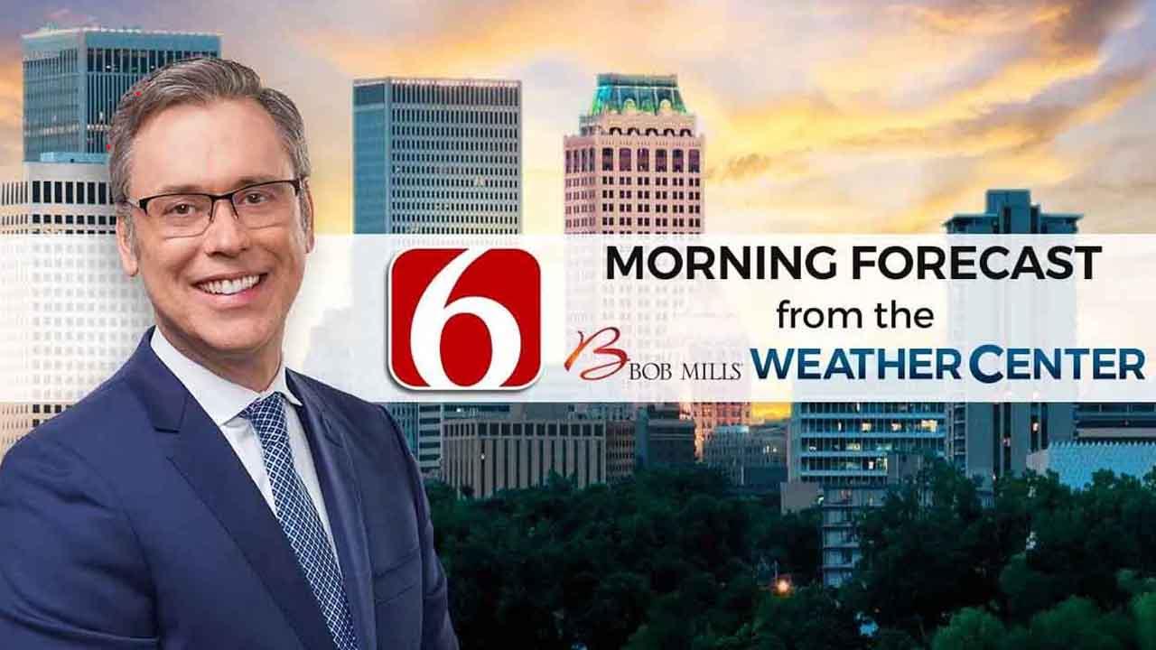 Monday Mornign Forecast With Alan Crone